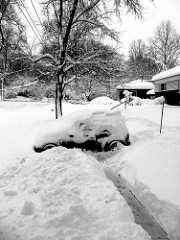 Digging out the Mini
