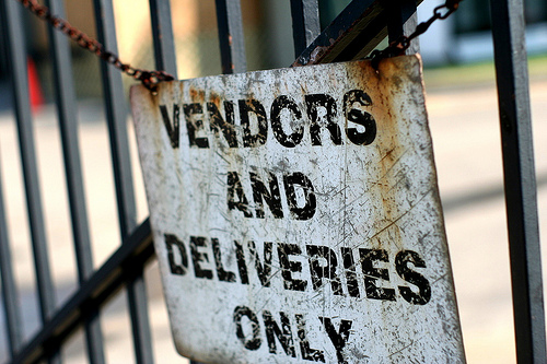 Vendors only