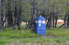 TARDIS sighting