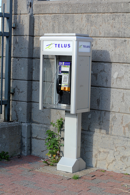 Another nice pay phone